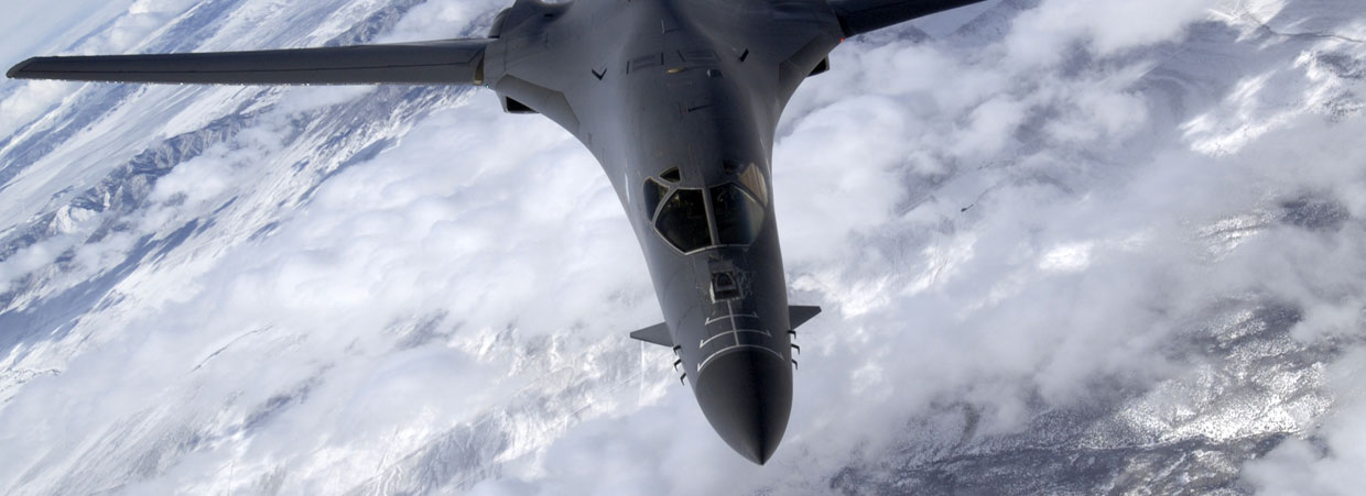 Simulated Military Displays - B-1B