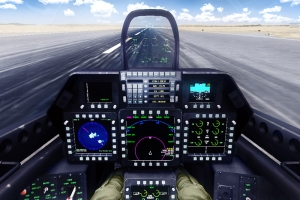 F-22 Up-Front Display (UFD)