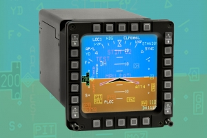 F-16 Color Multifunction Display (CMFD)